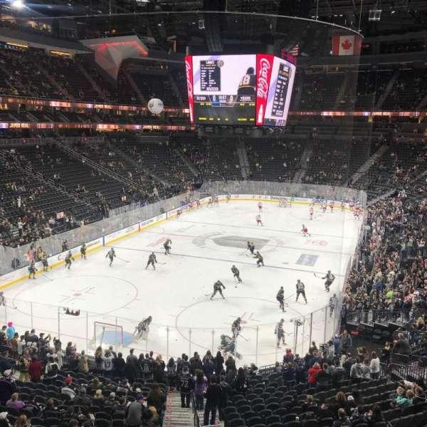 T-Mobile Arena, Abschnitt: 103, Reihe: A, Platz: 6
