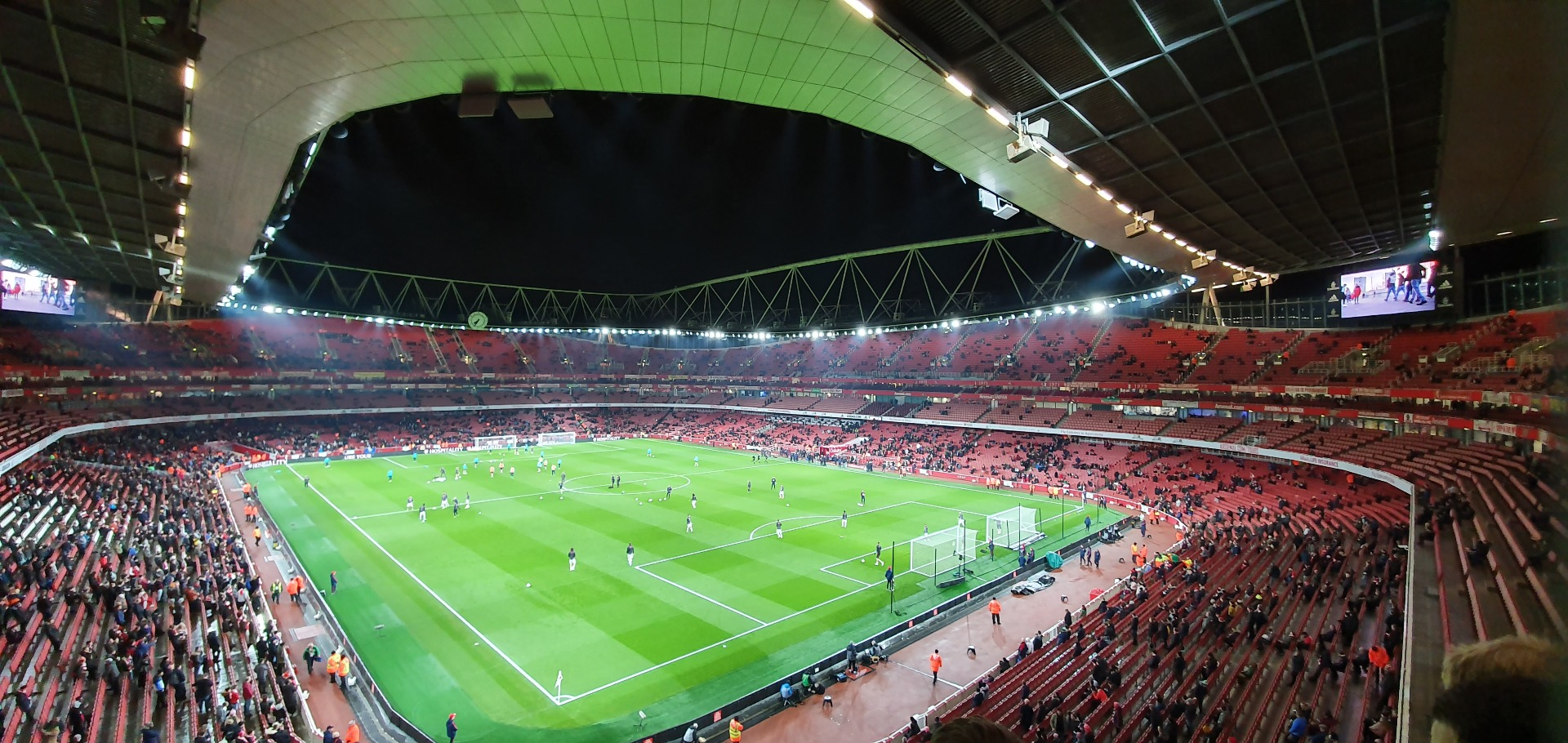 Emirates Stadium Bereich 106 Reihe 2 Platz 417