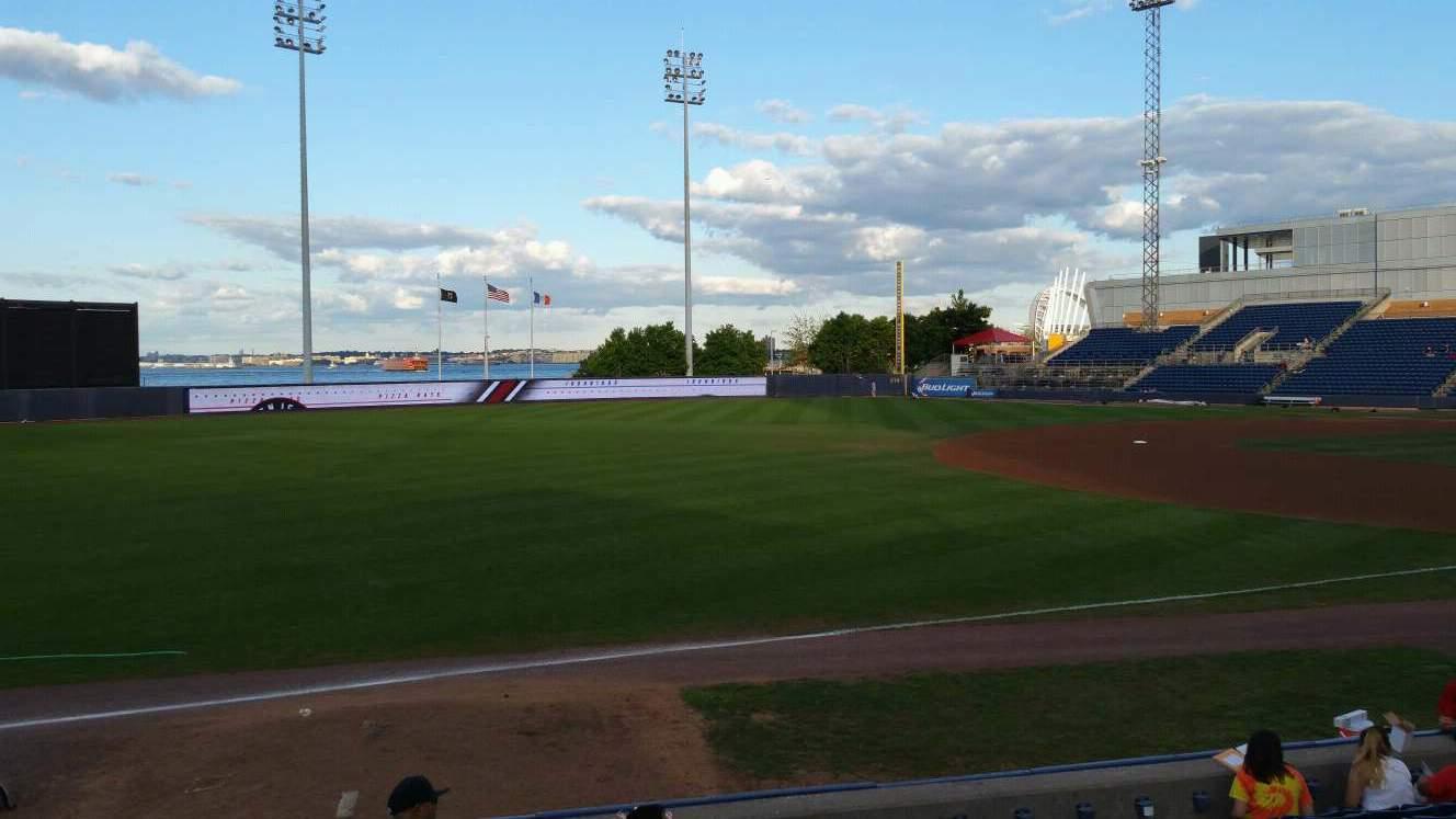 Richmond County Bank Ballpark Bereich 3 Reihe K Platz 22