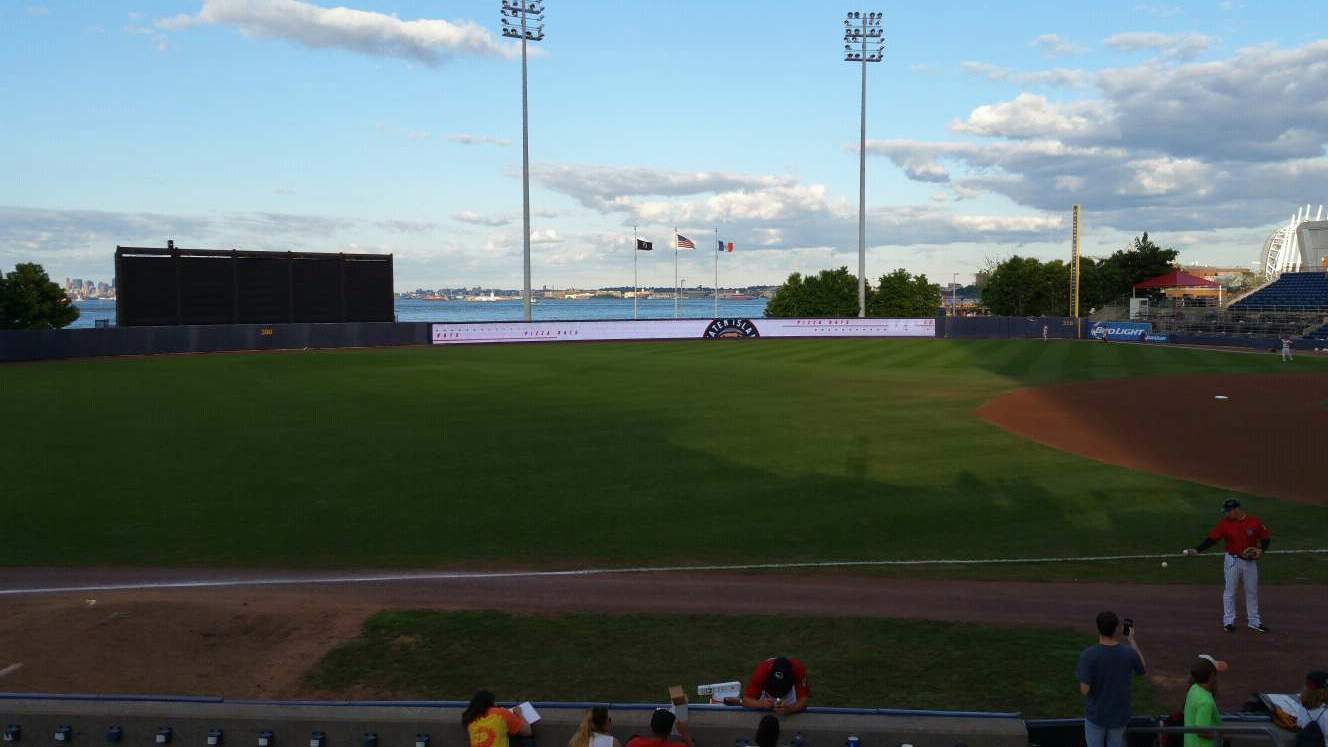 Richmond County Bank Ballpark Bereich 3 Reihe M Platz 6