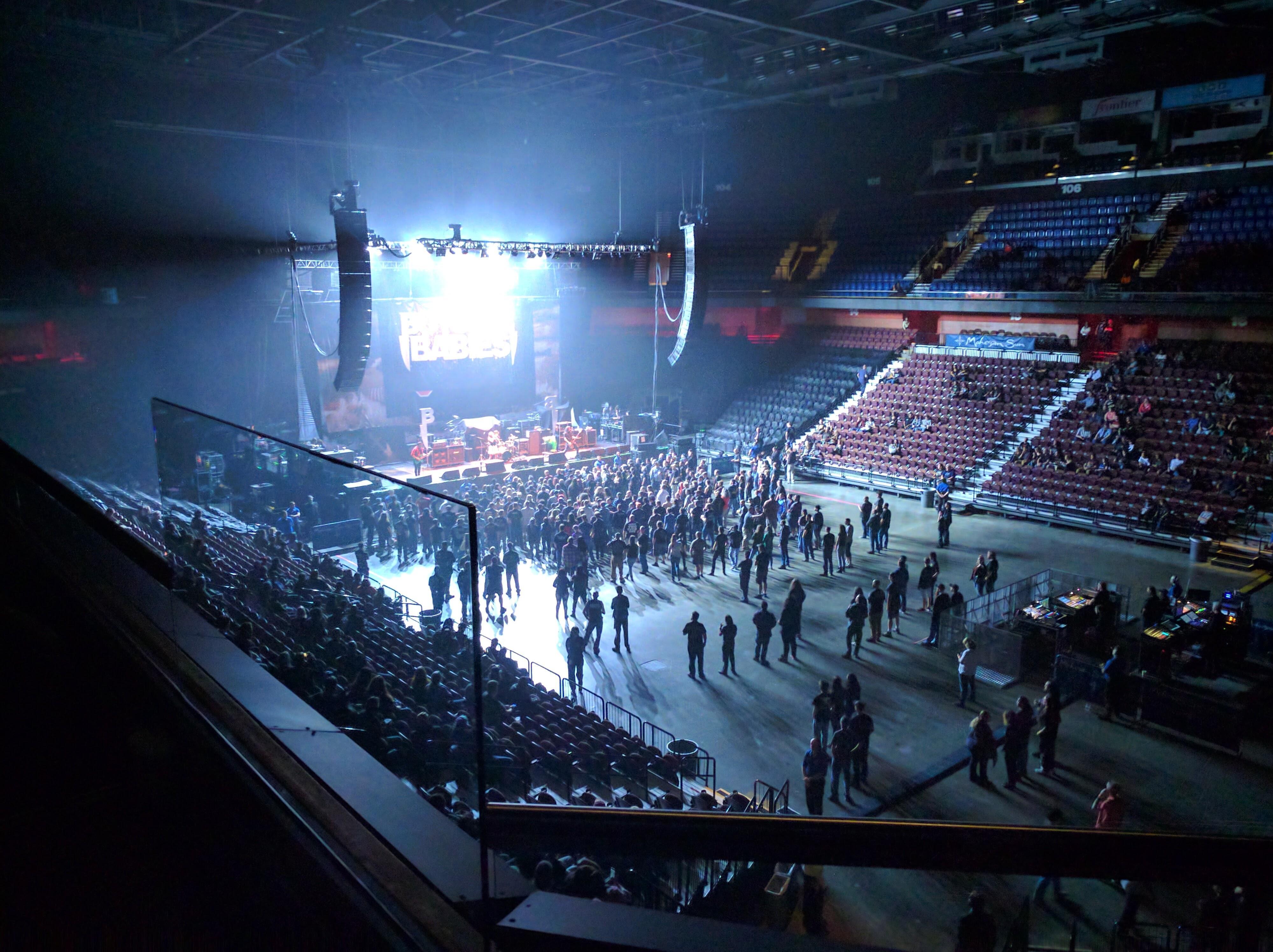 Mohegan Sun Arena Abschnitt 115 Reihe B Platz 11