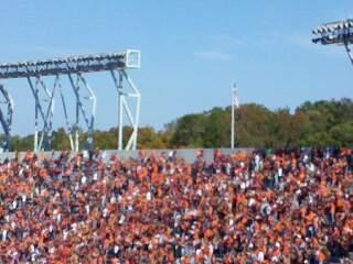 Lane Stadium Bereich 503 Reihe DD Platz 23