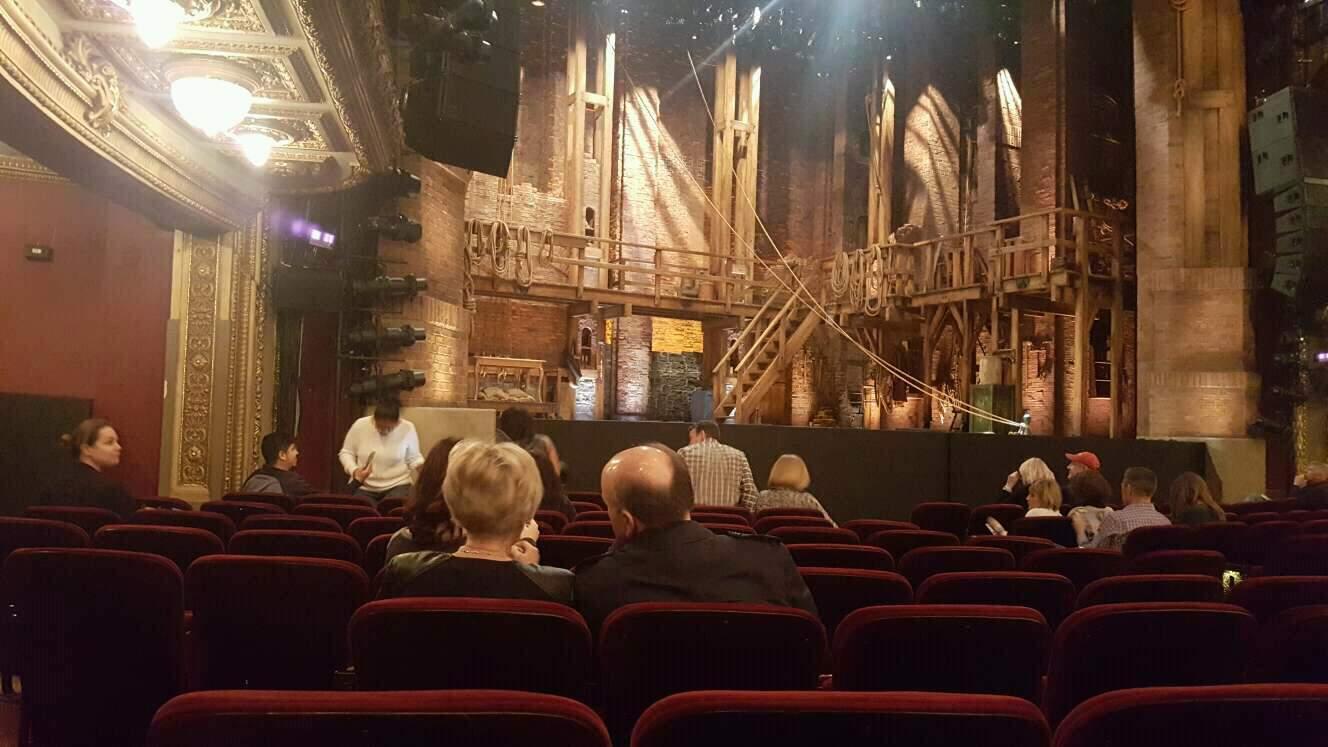 CIBC Theatre Abschnitt Orchestra L Reihe L Platz 21