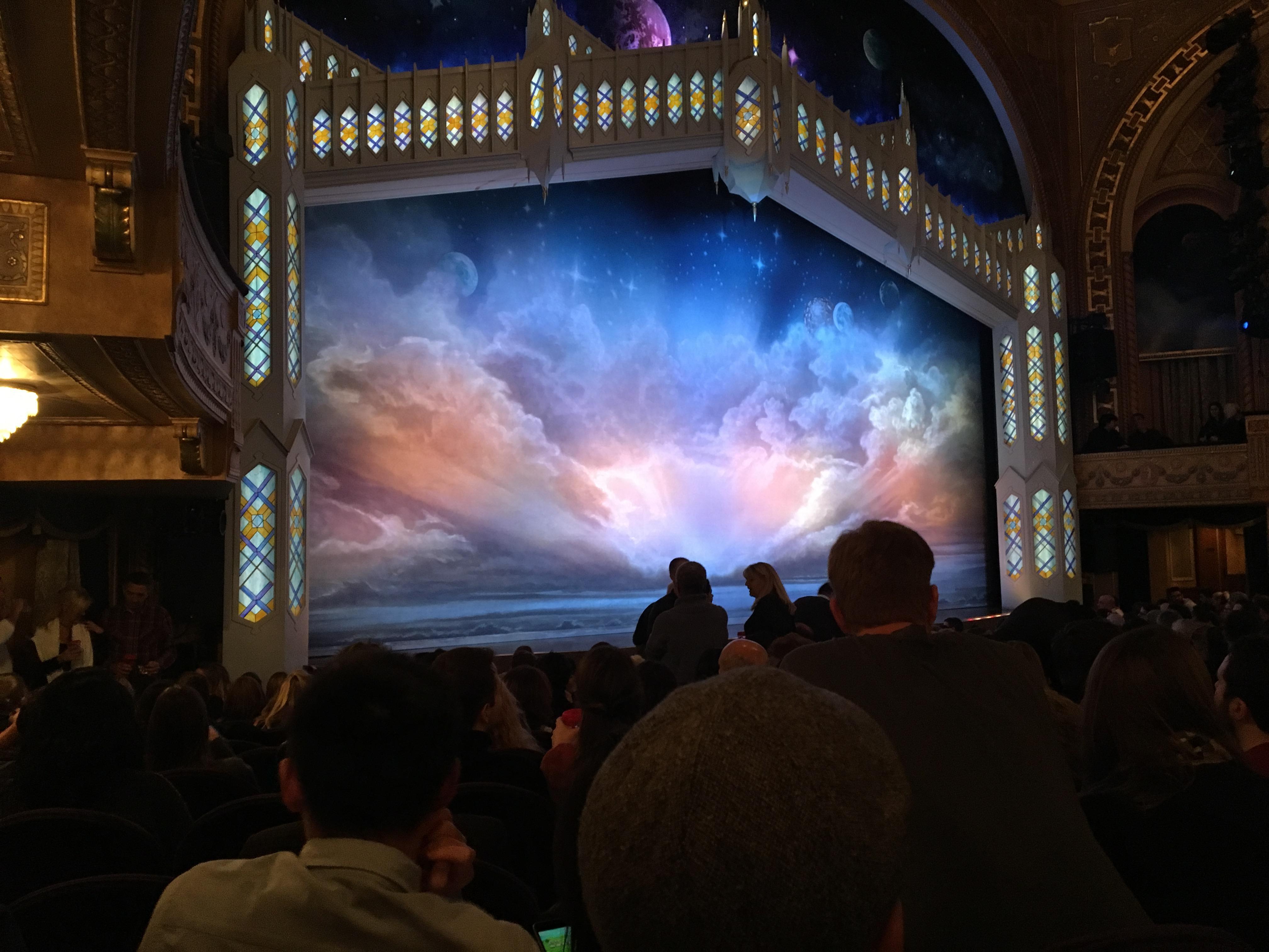 Eugene O'Neill Theatre Bereich Orchestra L Reihe N Platz 21