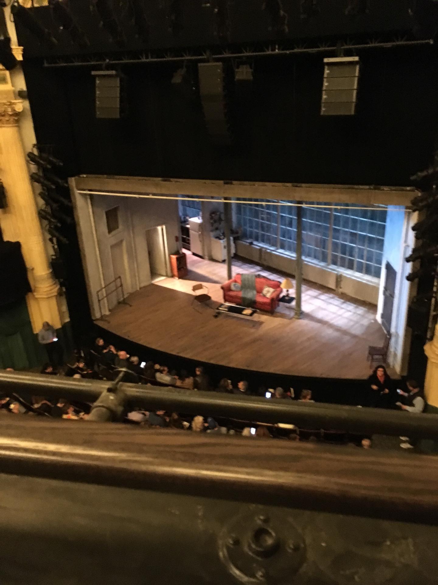 Hudson Theatre Abschnitt Balcony R Reihe A Platz 2