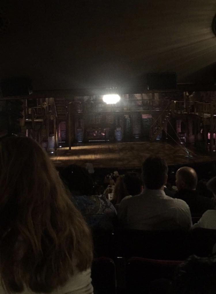 Richard Rodgers Theatre Abschnitt Orchestra C Reihe W Platz 110