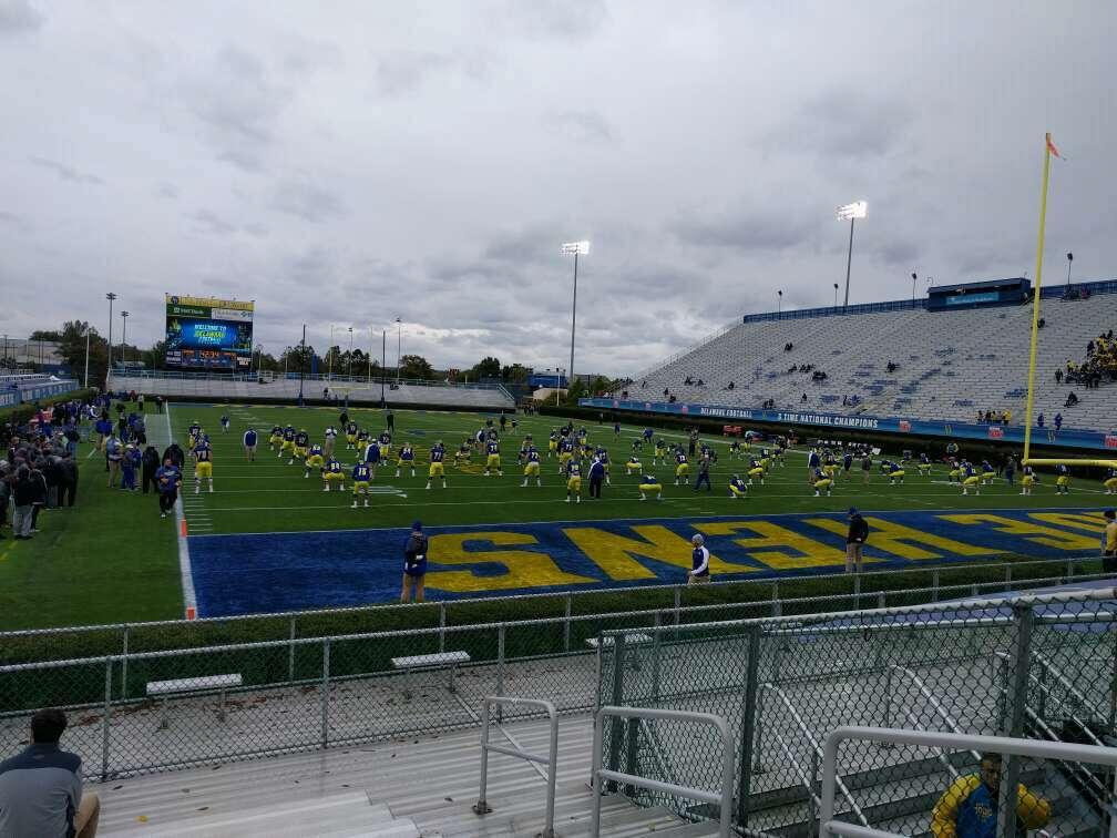 Delaware Stadium Bereich hh Reihe l Platz 4