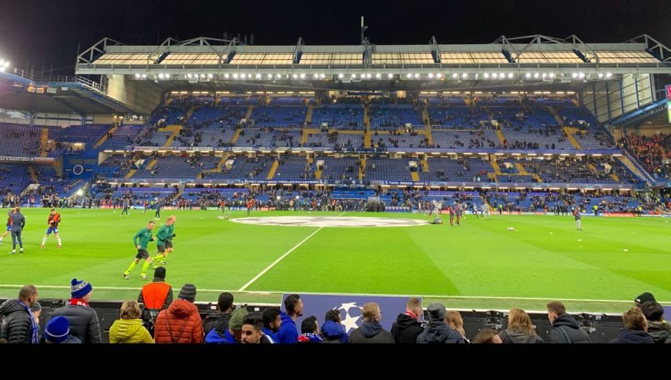 Stamford Bridge,  Abschnitt <strong>492</strong>, Reihe <strong>Handicap</strong>