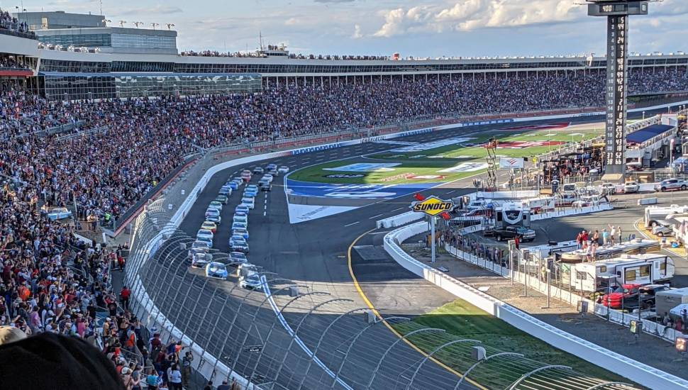 Charlotte Motor Speedway,  Bereich <strong>59RS</strong>, Reihe <strong>O</strong>, Platz <strong>1</strong>