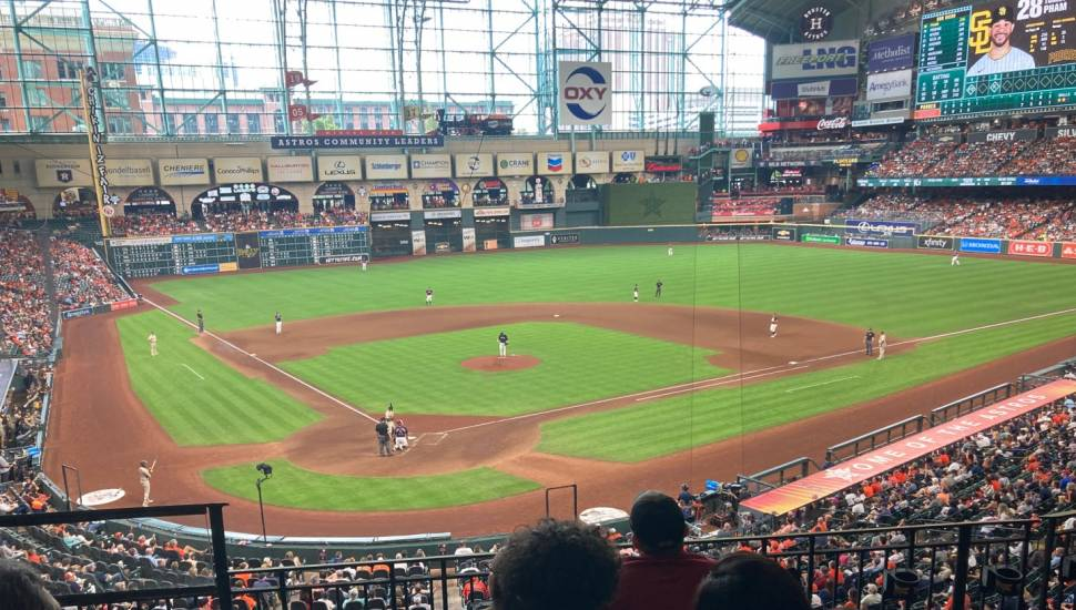 Minute Maid Park,  Bereich <strong>GNS CC</strong>, Reihe <strong>26</strong>, Platz <strong>1</strong>