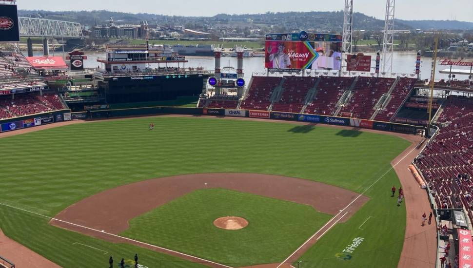 Great American Ball Park,  Bereich <strong>Club 145</strong>, Reihe <strong>H</strong>, Platz <strong>12</strong>