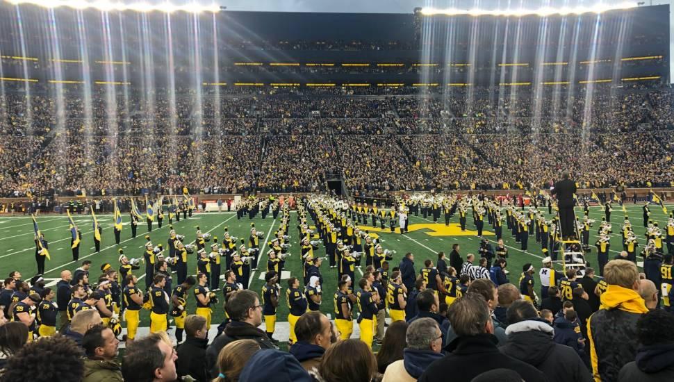 Michigan Stadium,  Abschnitt <strong>PP</strong>, Reihe <strong>27</strong>, Platz <strong>2</strong>