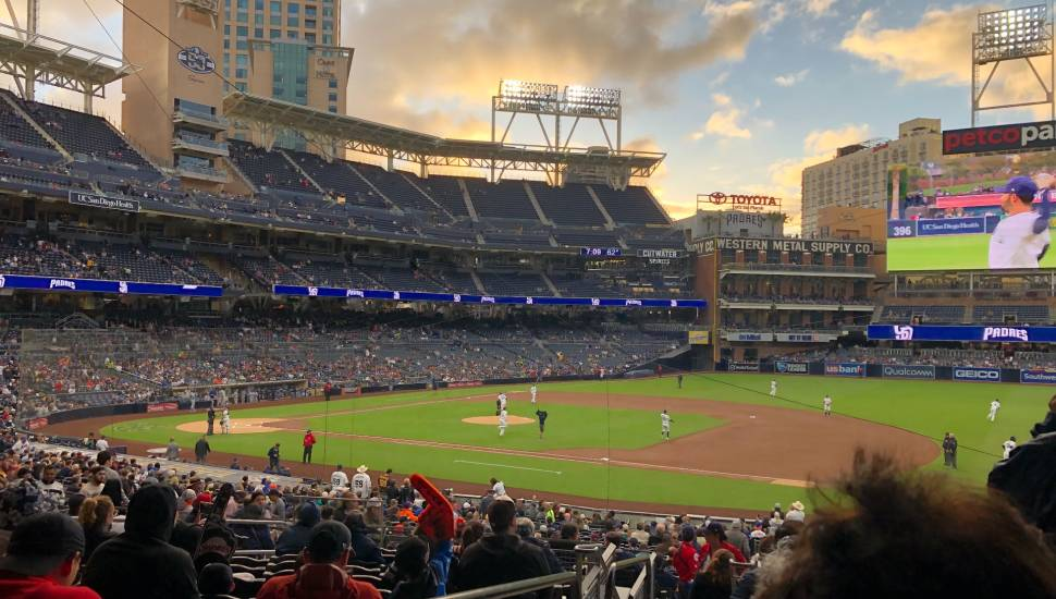 PETCO Park,  Bereich <strong>stalls</strong>, Reihe <strong>M</strong>, Platz <strong>22</strong>