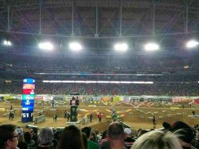 University of Phoenix Stadium, Abschnitt: 108, Reihe: 16, Platz: 10