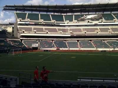 Lincoln Financial Field, Abschnitt: 137, Reihe: 10, Platz: 9