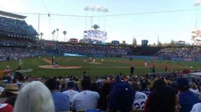 Dodger Stadium, Abschnitt: Field MVP 8, Reihe: L