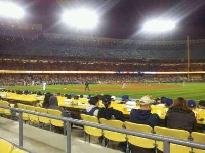 Dodger Stadium, Abschnitt: 36FD, Reihe: B