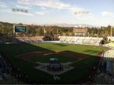 Dodger Stadium, Abschnitt: 1RS, Reihe: B, Platz: 17