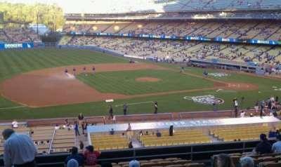Dodger Stadium, Abschnitt: 139lg, Reihe: m, Platz: 6