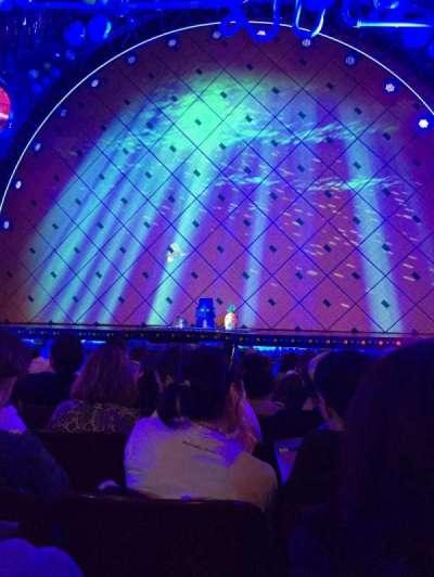 Palace Theatre (Broadway), Abschnitt: Orchestra, Reihe: K, Platz: 110