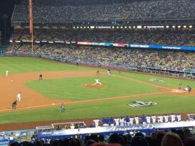 Dodger Stadium, Abschnitt: 137lg, Reihe: P, Platz: 8