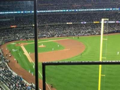 Yankee Stadium, Abschnitt: 407B, Reihe: 1, Platz: 20