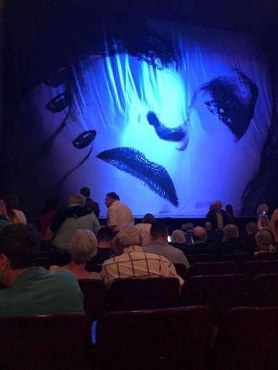 Palace Theatre (Broadway), Abschnitt: Orchestra, Reihe: K, Platz: 115