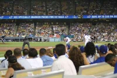 Dodger Stadium, Abschnitt: 43FD, Reihe: A, Platz: 4