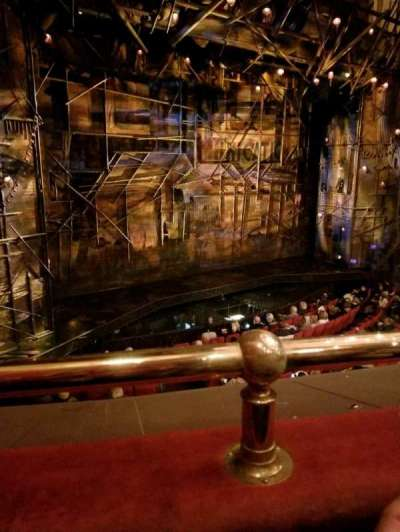 Broadway Theatre - 53rd Street, Abschnitt: Front Mezzanine, Reihe: A, Platz: 8
