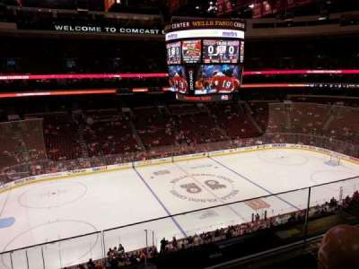 Wells Fargo Center Abschnitt 223