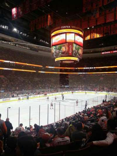 Wells Fargo Center Abschnitt 117