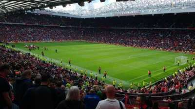 Old Trafford, Abschnitt: 230, Reihe: 27, Platz: 74