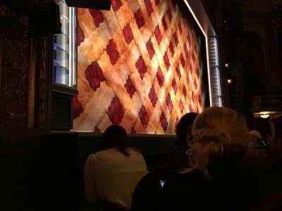 Brooks Atkinson Theatre, Abschnitt: Orchestra Left, Reihe: C, Platz: 13