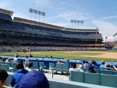 Dodger Stadium, Abschnitt: 24FD, Reihe: C, Platz: 4
