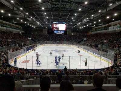 Ricoh Coliseum, Abschnitt: 115, Reihe: J, Platz: 18