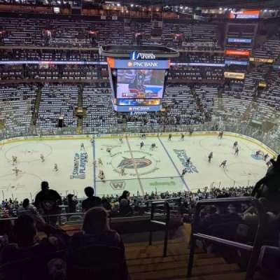 Nationwide Arena, Abschnitt: 204, Reihe: O, Platz: 1