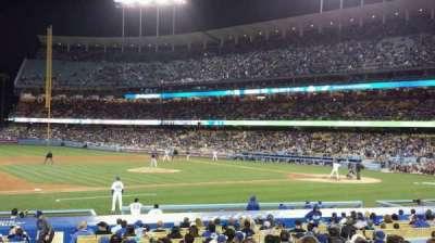Dodger Stadium, Abschnitt: 25FD, Reihe: O, Platz: 1