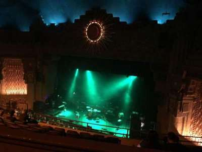 Aztec Theatre, Abschnitt: Balcony, Reihe: H, Platz: 2
