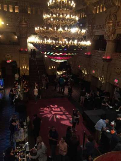 Aztec Theatre, Abschnitt: Lobby