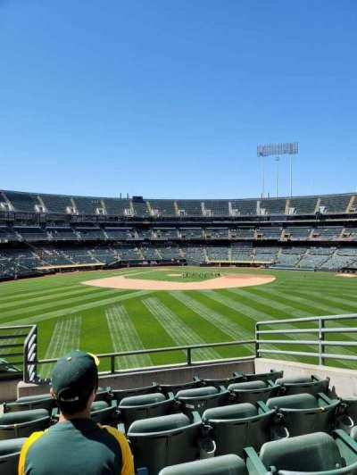 Oakland Coliseum, Bereich: 145, Reihe: 44, Platz: 5