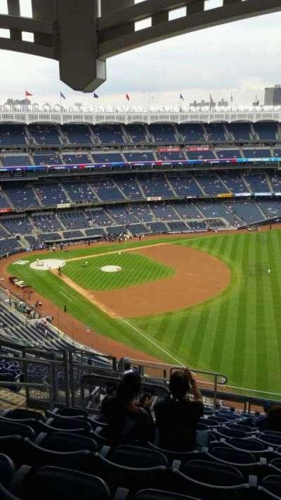 Yankee Stadium, Abschnitt: 409, Reihe: 12, Platz: 19