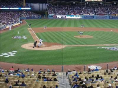 Dodger Stadium, Abschnitt: 116LG, Reihe: B, Platz: 5