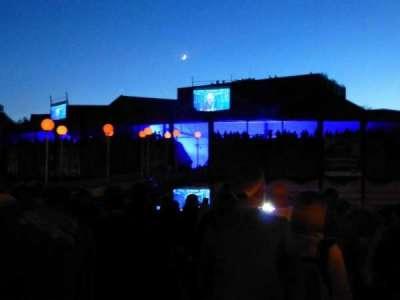 Saratoga Performing Arts Center, Abschnitt: Upper Lawn, slightly right of