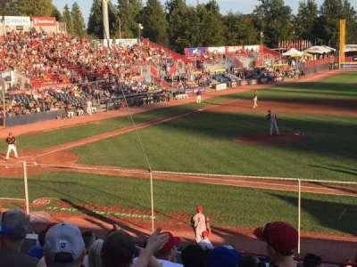 Nat Bailey Stadium, Abschnitt: 1, Reihe: 12, Platz: 12