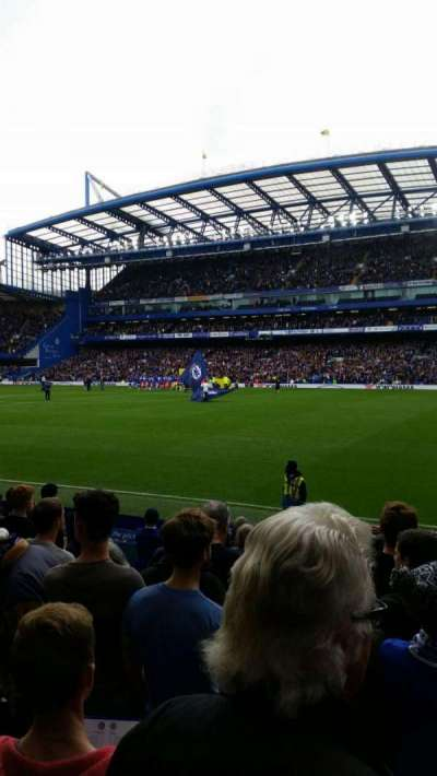 Stamford Bridge, Abschnitt: East Lower North, Reihe: O, Platz: 172