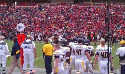 Maryland Stadium, Abschnitt: 6, Reihe: A, Platz: 1