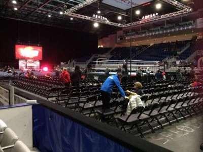 Ricoh Coliseum, Abschnitt: 119, Reihe: DD, Platz: 8