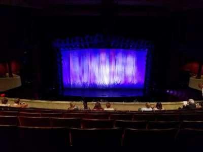 Marquis Theatre, Abschnitt: Mezzanine, Reihe: H, Platz: 108