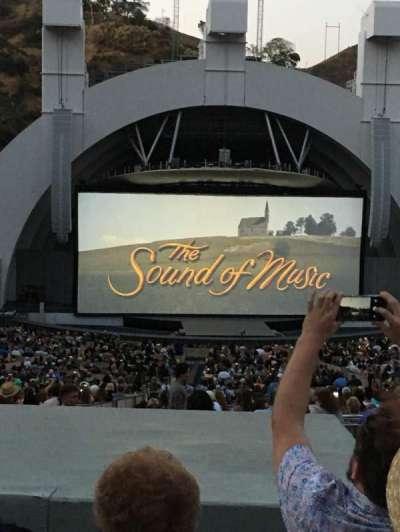 Hollywood Bowl, Abschnitt: J1, Reihe: 8, Platz: 18
