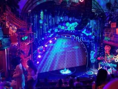 Palace Theatre (Broadway), Abschnitt: Mezzanine, Reihe: G, Platz: 17